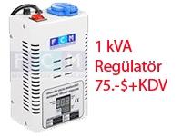 1 kVA Voltaj regülatörü